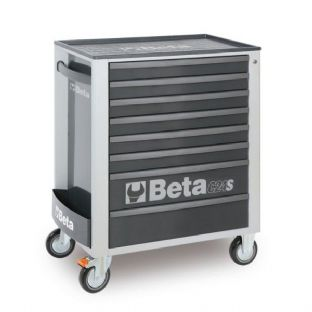 Beta C24S/8-G Mobile Roller Cab With 8 Drawers (Grey)
